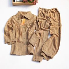 Women' Sleepwear Autumn Long-sleeve Pyjamas Trousers Pajamas Set. Yesterday's price: US $21.69 (17.77 EUR). Today's price: US $19.30 (15.88 EUR). Discount: 11%.