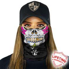 BANDANA GRAFITTI SKULL FACE MASK Motorbike, Fishing, Gym, Skate, Snow