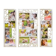 White Scrolling Vine Collage Frames, Set of 3 | Kirklands