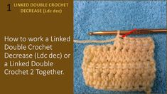 Hook and Yarns by EveryDayWomanCrochet: Learn to Increase and Decrease with the Linked Double Crochet (Ldc) Double Crochet Decrease, Yarns, Knitted Hats, Straw Bag, Knitting, Learning, Men, Tricot, Breien