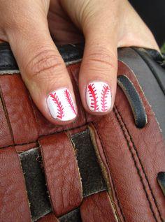 Softball Nails!! (: