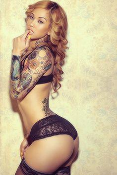 #TATTOS and BODY ART. Just Beautiful Women