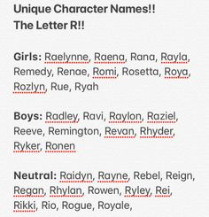 Pretty Names, Cute Names, Unique Names, Kid Names, Book Writing Tips, Writing Words, Writing Prompts, Name Inspiration, Writing Inspiration
