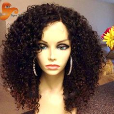 Now available @Hawtinhair.com 8A Mogolian Kinky...  Check it out   http://hawtinhair.com/products/8a-mogolian-kinky-curly-full-lace-human-hair-wigs-for-black-women-virgin-glueless-full-lace-wigs-afro-kinky-curly-lace-front-wig?utm_campaign=social_autopilot&utm_source=pin&utm_medium=pin