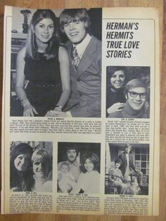 Herman's Hermits, Peter Noone, Full Page Vintage Clipping