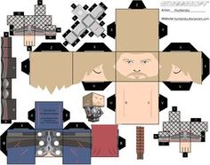 Blog_Paper_Toy_papertoy_Thor_template_preview