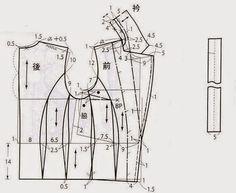 jackets (Chinese method of pattern making) - modelist kitapları