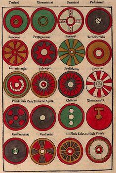 Roman Shield, Roman Armor, Viking Shield, Escudo Viking, Ancient Jewelry, Viking Jewelry, Vikings, Anglo Saxon History, Viking Reenactment