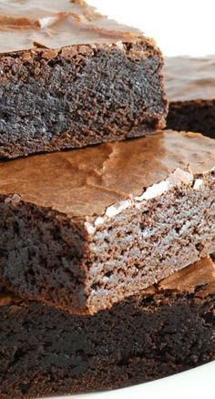Grandma's Old-Fashioned Rich Fudge Brownies