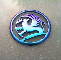 Colour Change Vauxhall VXR Badge