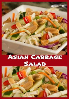 You'll love our recipe for Asian Cabbage Salad, it's the perfect Chinese New Year recipe!