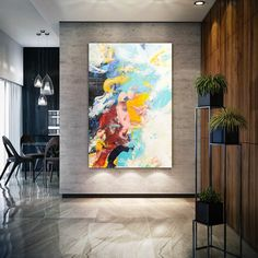 Abstract painting Decor - Large Original Artwork, Abstract Painting on Canvas, Textured Palette Knife Modern Wall Decor, Contemporary Handmade Colorful artwork Large Artwork, Large Canvas Art, Extra Large Wall Art, Colorful Artwork, Abstract Canvas Art, Abstract Paintings, Canvas Artwork, Oil Paintings, Big Wall Art