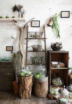 Construir un jardín interior