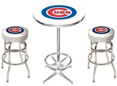Use this Exclusive coupon code: PINFIVE to receive an additional 5% off the Chicago Cubs Pub Table Set at sportsfansplus.com