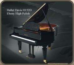 Hallet Davis H-152 Grand Piano