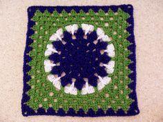 Friends Square Free Pattern