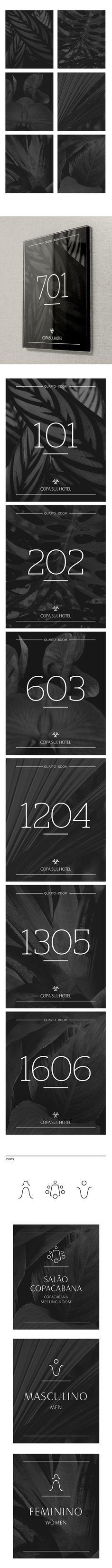 Copa Sul Hotel Signage on Behance