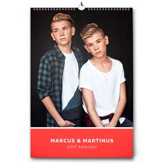 Official Marcus & Martinus online store with a wide selection of sweaters, t-shirts, caps, bracelets and much more. Buy official M&M merch from MMSTORE. Wall Calender, Boys, Collection, Twins, Ideas, Norway, Love, Baby Boys, Guys