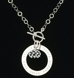 Citrus Silver - beautiful stamped jewellery, designed & made in Canada