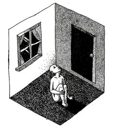Angluhfeesh - Картины тушью и карандашом - Невозможный мир