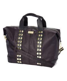 f6a04b83ad Night Nylon Studed Satchel  zulily  zulilyfinds Bag Accessories