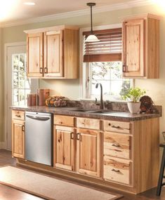 Best Kraftmaid Natural Hickory Kitchen Cabinets Google Search 640 x 480
