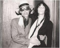 Iggy Pop and Patti Smith
