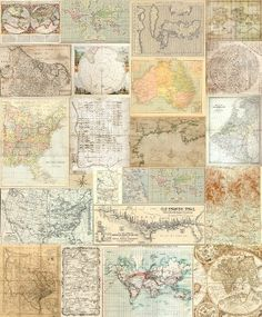 This patchwork mural made out of old maps, gives your room an authentic look. The mural size is wide x high and comes in 5 x easy-to-hang panels. This is an easy-to-hang, paste-the-wall wallpaper. Map Wallpaper, Unique Wallpaper, Designer Wallpaper, Wall Murals Uk, Wall Maps, Map Collage, Travel Memories, Wall Art Designs, Vintage World Maps