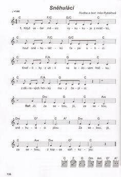 Music Notes, Sheet Music, Education, Winter, Africa, Winter Time, Onderwijs, Learning, Music Sheets