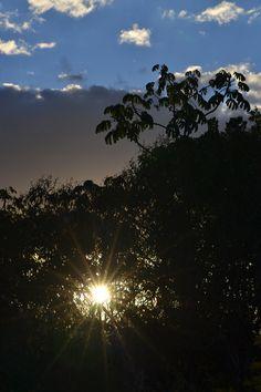 Sunset at Alto Paraiso, Goias.