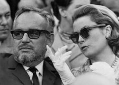 Prince Rainier and Princess Grace of Monaco attend the Maestranza bullfight in Seville, April 19, 1966.