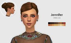 Jennifer Bun Recolors at Lexicon Luthor • Sims 4 Updates