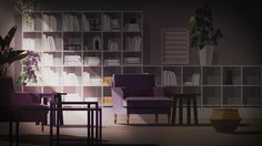 Design for animation project. Ikea 'light' series of animations.