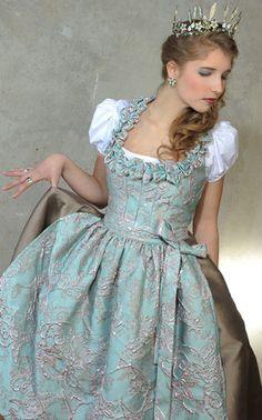 Folk Fashion, Blue Fashion, Fashion 2020, Oktoberfest Outfit, Couture, Dirndl Dress, German Fashion, Medieval Dress, Sweet Dress