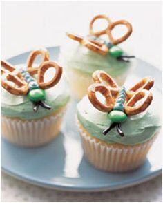 Butterfly spring cupcake