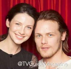 Sam & Cait #Outlander #OutlanderTVSeries