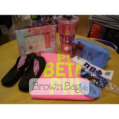 Pi Beta Phi Bid Day packages available in stores or online today! Bid Day Gifts, Pi Beta Phi, Brown Bags, Online Gifts, Sorority, Lunch Box, Packaging, Paper Bags, Bento Box