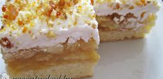 Ezek a receptek már bizonyítottak! Próbáld ki őket Te is! Hungarian Desserts, Hungarian Recipes, Hungarian Food, Cake Bars, Pie Cake, My Recipes, Vegan Recipes, Cooking Recipes, Something Sweet