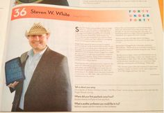 40 Under 40 Steven W. White - 2012
