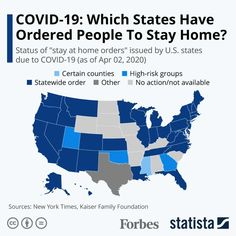 COVID-19: Which States Have Ordered People To Stay Home? [Infographic]