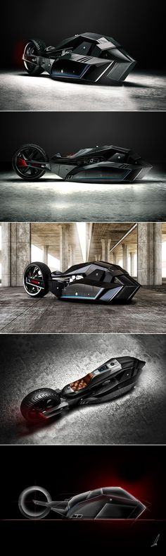 BMW Titan Motorcycle
