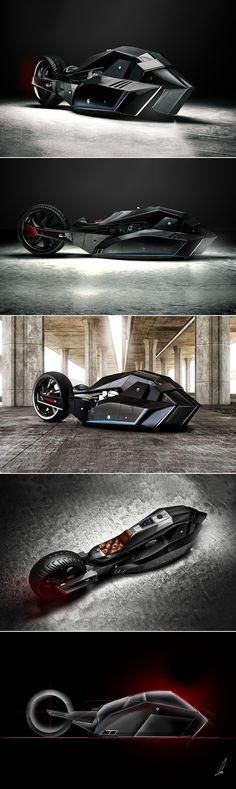 BMW Titan Motorcycle