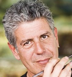 Anthony Bourdain - Snarky, sarcastic and raw