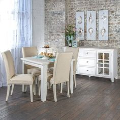 Florence 900 Dining Package with Maxwell Chairs (Table - 900W x 900D x 775H mm.  Chair - 460W x 640D x 1000H mm.) RRP $1,058