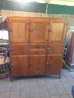 1930\u0027s Oak Kitchen Dresser & Vintage Plate Rack | ... Hung Plate Rack Antique Coat Rack Antique ...