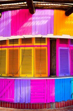 Colours in Durban. so vibrant!