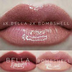 LipSense distributor #228660 @perpetualpucker Bella and Bombshell combo