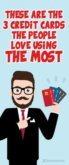 Out of all of the credit cards on the market today, these 3 have been voted the top cards for customer satisfaction. Get all the details at NextAdvisor to see if one of these cards if right for you.