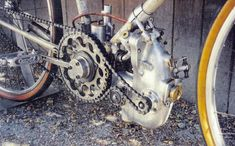 Rocketumblr — Bugatti T72 Supercharged Motorized-Bicycle