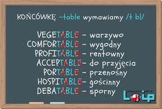 English Grammar Tenses, English Phrases, English Vocabulary, English Lessons, Learn English, British And American English, Polish Language, Grammar Tips, Perfect English